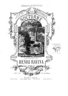 Jour de Bonheur (Nocturne), Op.55: Jour de Bonheur (Nocturne) by Jean-Henri Ravina