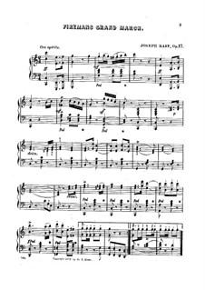Fireman's Grand March, Op.17: Fireman's Grand March by Joseph Kaspar Raff