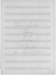 Rhapsody 'Pensée fugitive': Rhapsody 'Pensée fugitive' by Johann Kaspar Mertz
