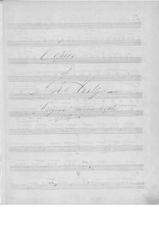 Selected Pieces: For guitar (manuscript) by Johann Kaspar Mertz