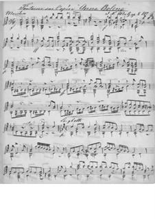 Fantasia on Theme from 'Anna Bolena' by Donizetti, Op.8 No.6: Fantasia on Theme from 'Anna Bolena' by Donizetti by Johann Kaspar Mertz