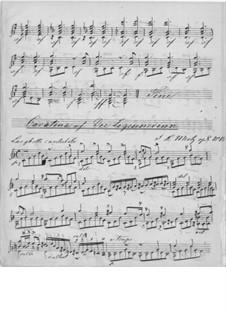 Cavatina on Theme from 'The Bohemian Girl' by Balfe: For guitar by Johann Kaspar Mertz