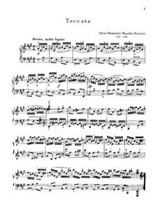 Sonata in A Major: Toccata by Pietro Domenico Paradies
