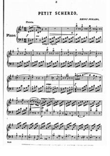 Small Scherzo: Small Scherzo by Ernst Perabo