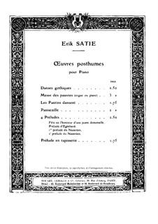 Danses gothiques: Danses gothiques by Erik Satie