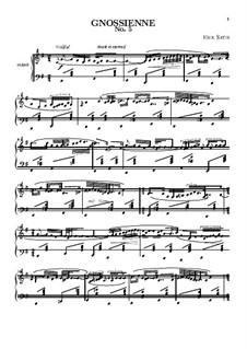 No.5: For piano by Erik Satie