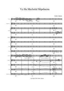 Ve Hu Mecholal Mipshaenu: Full score by Esther Upham-Aluoch