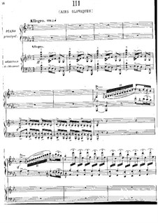 Piano Concerto in E Flat Major: Movement III. Version for two pianos four hands by Jules Massenet