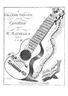 Two Grand Sonatas: Sonata No.2 by Wenzel Thomas Matiegka