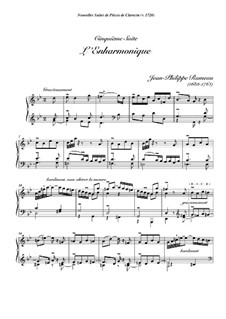 Harpsichord Suite in G Minor, RCT 6: L'enharmonique by Jean-Philippe Rameau