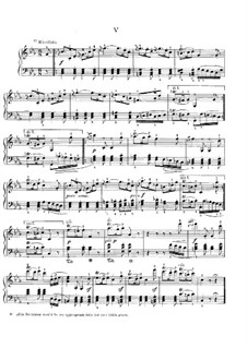 Eleven New Bagatelles for Piano, Op.119: Bagatelle No.5 by Ludwig van Beethoven