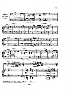Fragments: Movements II, III, for piano by Ludwig van Beethoven
