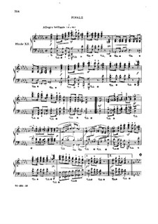 Symphonic Etudes, Op.13: No.12 by Robert Schumann