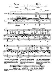 Four Poems, Op.45: No.1, 3-4 by Nikolai Medtner