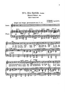 Six Poems after Goethe, Op.18: Complete set by Nikolai Medtner