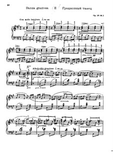 Forgotten Melodies I, Op.38: No.2 Danza Graciosa by Nikolai Medtner