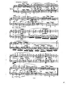 Six Intermezzi, Op.4: Intermezzo No.4 by Robert Schumann