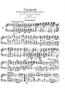 Carnival, Op.9: No.1 Préambule by Robert Schumann