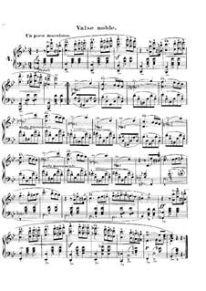 Carnival, Op.9: No.4 Valse noble by Robert Schumann
