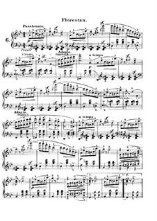 Carnival, Op.9: No.6 Florestan by Robert Schumann