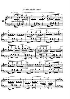 Carnival, Op.9: No.14 Reconnaissance by Robert Schumann