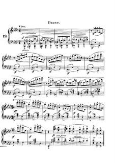 Carnival, Op.9: No.19 Pause by Robert Schumann