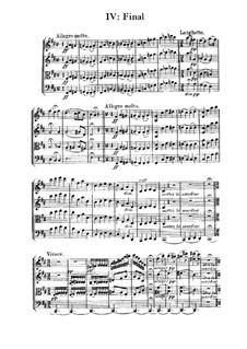 String Quartet in D Major, M.9: Movement IV by César Franck
