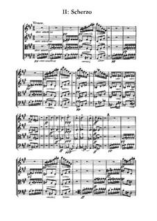 String Quartet in D Major, M.9: Movement II by César Franck