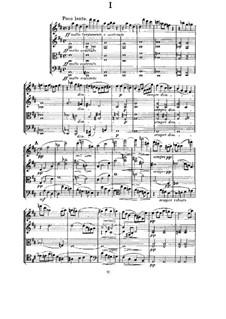 String Quartet in D Major, M.9: Movement I by César Franck