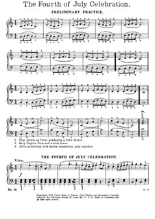 The Fourth of July Celebration: The Fourth of July Celebration by Ernest Richard Kroeger