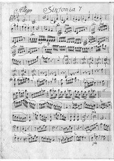 Sinfonia in E Flat Major for Orchestra: Sinfonia in E Flat Major for Orchestra by Antonio Filtz
