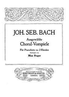 O Mensch, bewein' Dein' Sünde groß (O Man, Bewail Your great Sin): For piano by Johann Sebastian Bach