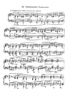 Two Sonatas for Piano, Op.53: No.1 Romantic Sonata, Movement III by Nikolai Medtner