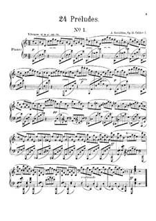 Twenty-Four Preludes, Op.11: Preludes No.1-2 by Alexander Scriabin