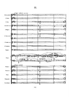 Concerto for Piano and Orchestra in F Sharp Minor, Op.20: Movement III by Alexander Scriabin
