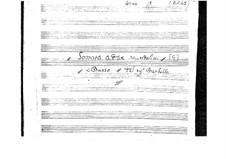 Sonata for Two Mandolins and Cello: Sonata for Two Mandolins and Cello by Emanuele Barbella