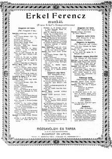 Keserű bordal: Keserű bordal by Ferenc Erkel