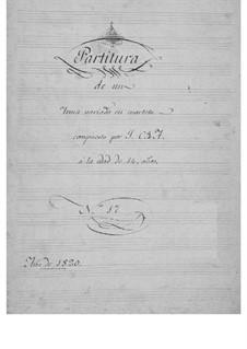 Theme and Variations for String Quartet, Op.17: Theme and Variations for String Quartet by Juan Crisóstomo de Arriaga