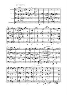 Quartet No.6 in B Flat Major: Movement IV by Ludwig van Beethoven