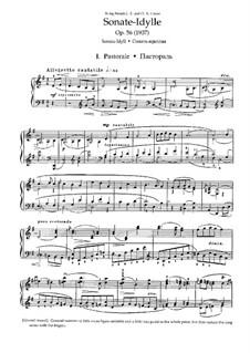 Sonata-Idyll for Piano in G Major, Op.56: Movement I by Nikolai Medtner