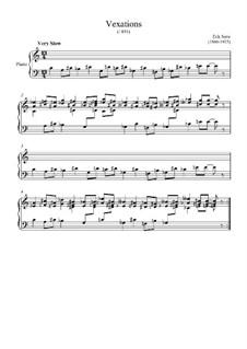 Vexations: Vexations by Erik Satie