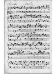 Three Sonatas for Harpsichord: Sonata No.3 in F Major by Johann Adolph Scheibe