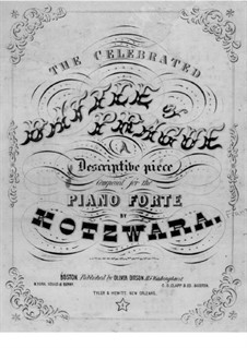The Battle of Prague: For piano by Franz Kotzwara