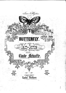 Butterfly: Butterfly by Claude Melnotte