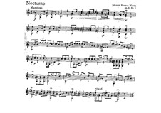 Three Nocturnes, Op.4: Nocturne No.3 by Johann Kaspar Mertz