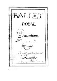 Alcidiane, LWV 9: Alcidiane by Jean-Baptiste Lully