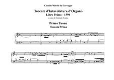 Toccatas for Organ: Toccatas for Organ by Claudio Merulo