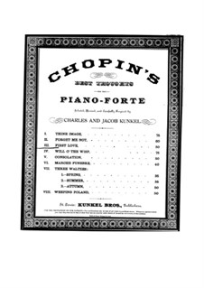 Ballade No.2 in F Major, Op.38: For piano (version in G Major) by Frédéric Chopin