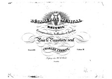 Pieces for Piano, Op.110: Book IV by Carl Czerny