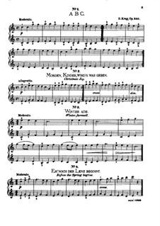 Pieces for Childrens, Op.340: Pieces for Childrens by Dietrich Krug
